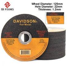 2-50 discos de corte inoxidável do metal dos pces 125mm cortar rodas roda do moedor de ângulo para o cortador da lâmina de moedura do ferro do metal