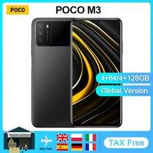 POCO-teléfono inteligente M3, versión Global, Snapdragon 662, 64GB/128GB, pantalla de 6,53 pulgadas, batería de 6000mAh, cámara de 48MP