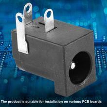 50pcs 5.5*2.1 DC 30V/0.5A Power Barrel-Type Socket Power Jack Socket Connector цена