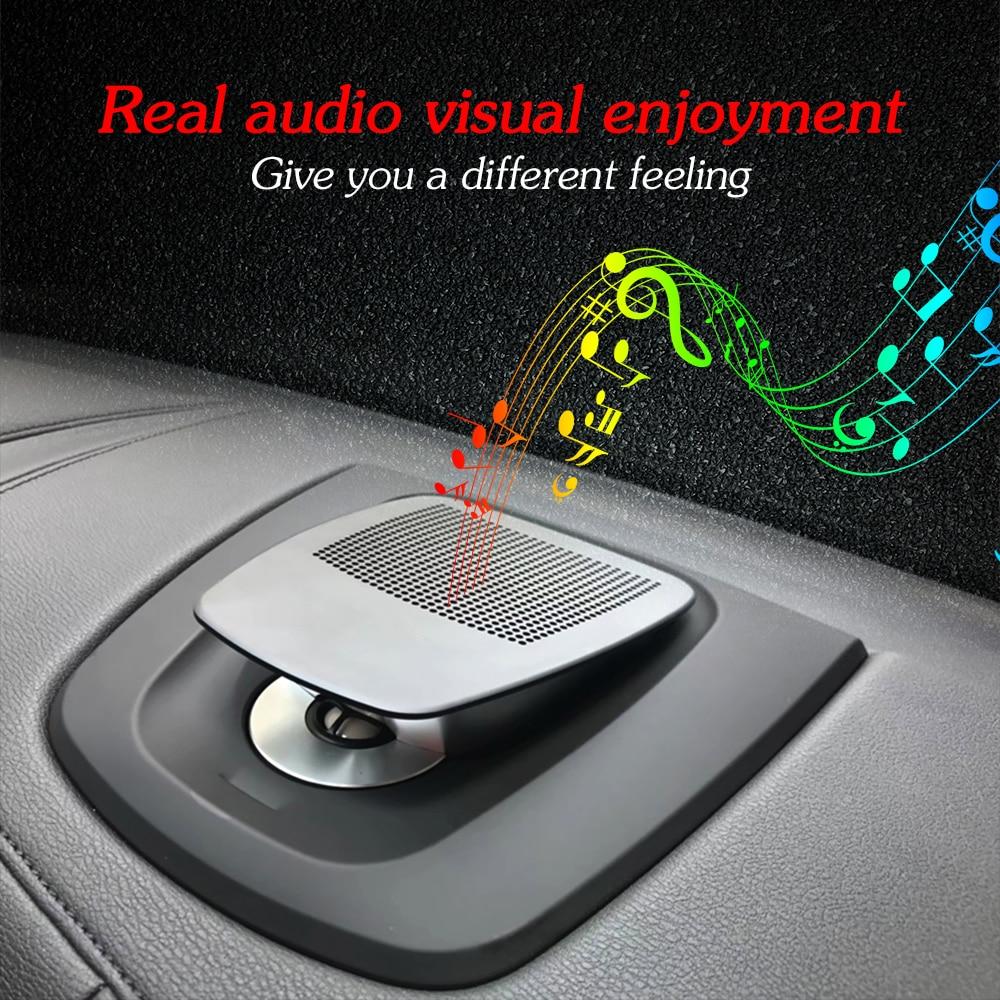 Image 3 - Car center speaker for BMW X5 X6 F15 F16 auto dashboard console audio lifting loudspeaker tweeter music player horn dash speakerMulti-tone & Claxon Horns   -