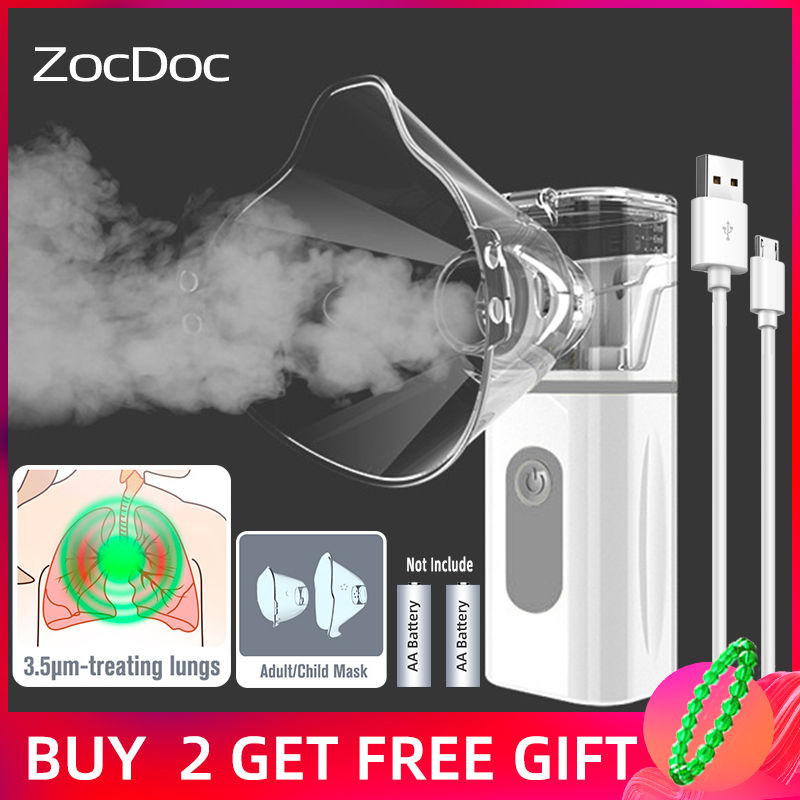 Nebulizer portable health care steam inhalation machine medical devices baby care health asthma inhaler ultrasonic nebulizer|Steaming Devices| - AliExpress