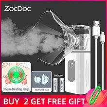 Nebulizer portátil cuidados de saúde máquina de inalação de vapor dispositivos médicos cuidados com o bebê saúde asma inalador ultra-sônico nebulizador