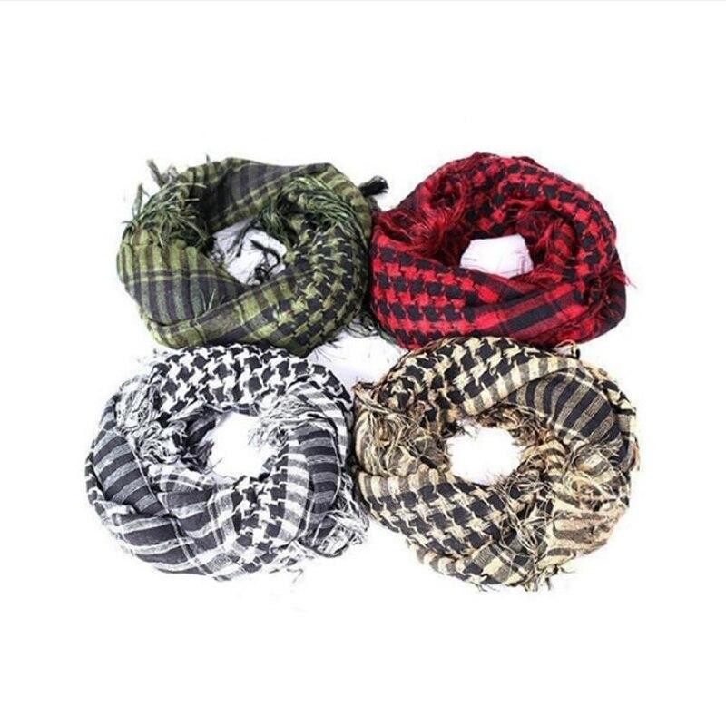 High Quality Arab Shemagh Keffiyeh Military Tactical Palestine Scarf For Men Shawl Kafiya Wrap Shemagh Scarf Fashion Scarves