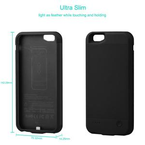 Image 2 - PowerTrust 2800mAh Battery Charger Case For iPhone 6 6s Power Bank Charing Case