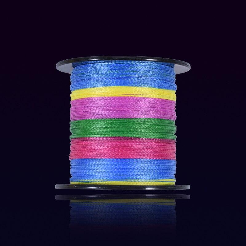 PPGUN 300M Multifilament olta 4 iplikçik çok renkli süper güçlü yatay PE örgü misina olta kaliteli balıkçılık ürünleri