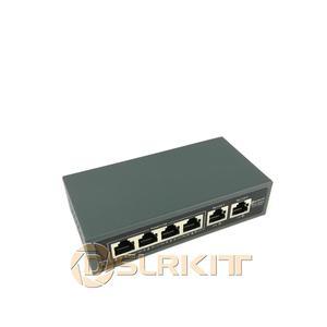 Image 1 - Dslrkitインジェクタパワーオーバーイーサネット電源アダプタなしで 5 ポート 4 poeスイッチ