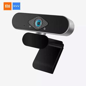 Xiaomi Xiaovv caméra vlog intégré réduction du bruit Microphone 1080P HD Webcast en direct USB caméra conférence numérique Web Cam