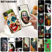 Para pára-choques 6s para iphone 7 caso joker macio preto caso do telefone para o iphone 11 pro xs max 8 7 6s plus x 5 5S se xr caso(China)