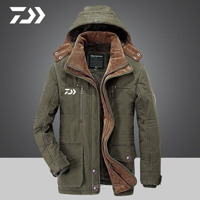 daiwa jaqueta de la dos homens engrossar 03