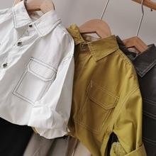 Shirt Clothing Tops Spring Blouselb174 Baby Boys Kids Children's Long-Sleeved New Autumn