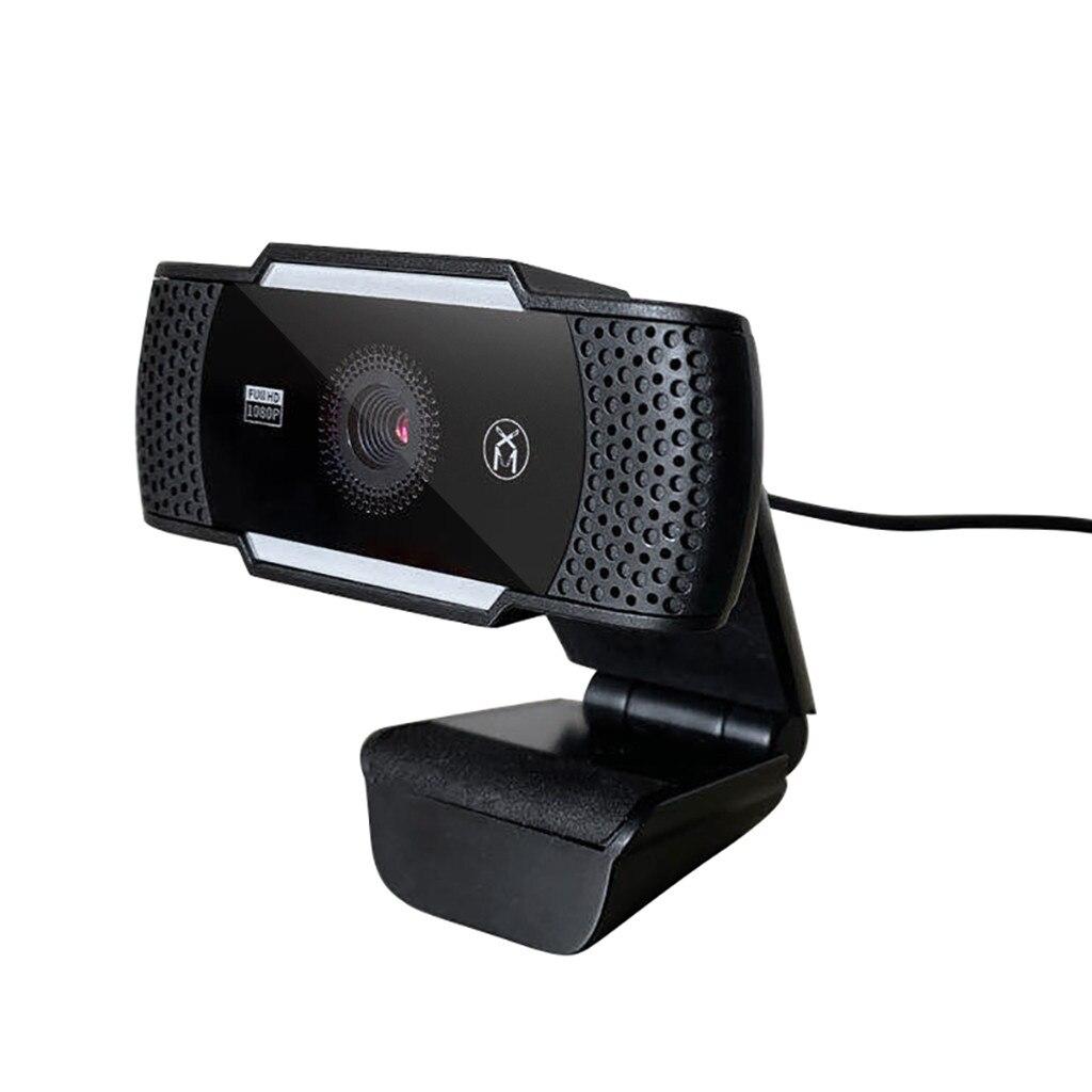 Full HD 1080P Веб-камера Настольный ПК видеосвязи веб-камеры Камера наушников с микрофоном Mic USB 2,0 веб-камера с высокой четкостью Камера веб-камер...