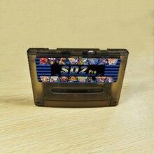 Novo rev x. Pcb super retro 1200 em 1 cartucho de jogo para 16 bits game console wok nos eua/eur/japão versão consoles