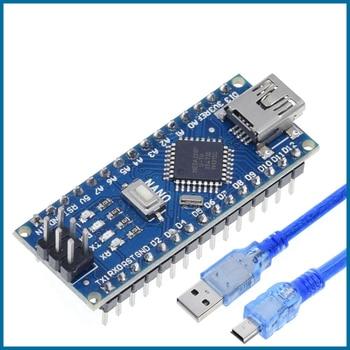 S ROBOT TZT Mini USB With the bootloader Nano 3.0 controller compatible for arduino CH340 USB driver 16Mhz NANO V3.0 EC2