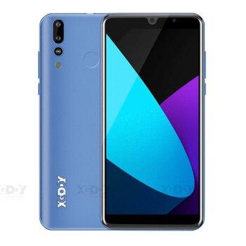 Перейти на Алиэкспресс и купить XGODY P30 3G смартфон 6 дюйм18:9 Android 9,0 2 Гб ОЗУ 16 Гб ПЗУ MTK6580 четырехъядерный двойной 2800 мАч GPS WiFi 5MP мобильный телефон celular