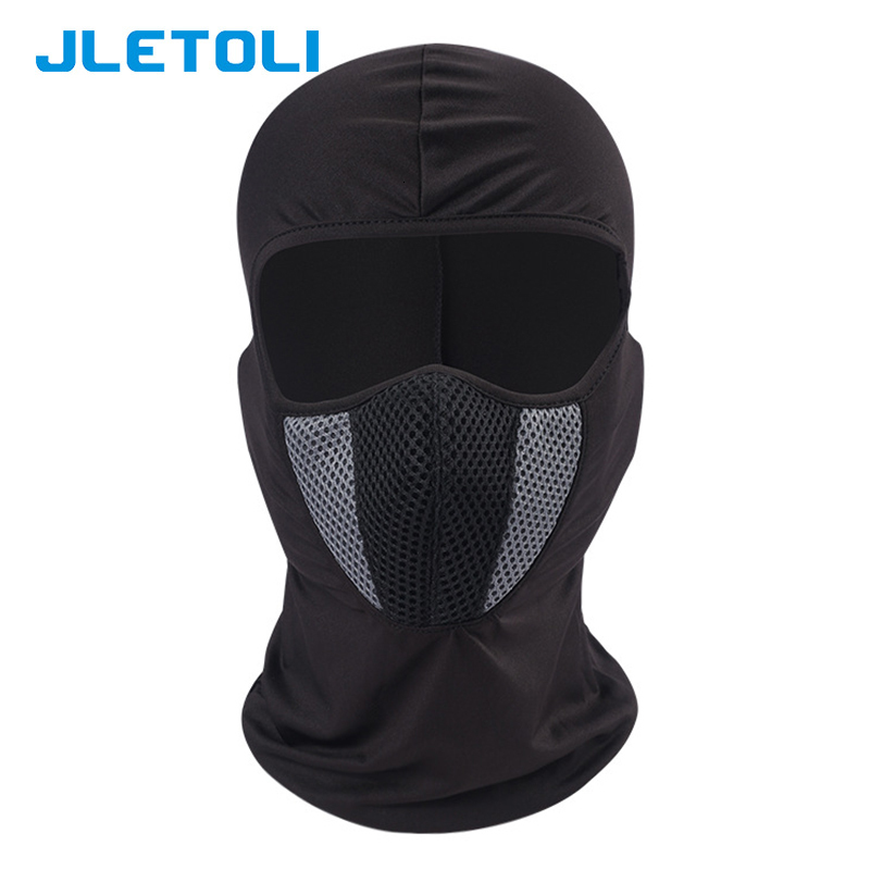 Hfd35715c3b66460dbf522d0e2d4ca14fK JLETOLI Windproof Facemask Dustproof Mask Outdoor Cycling Face Cover Face Mask Snow Skiing Running Hiking Head Warmer for Men