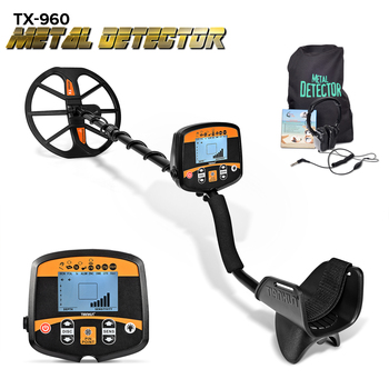 Professional Metal Detector Underground Depth Scanner Search Finder Gold Detector Treasure Hunter Detecting Pinpointer TX-960 underground metal detector coins treasure hunter detector waterproof gold digger finder professional detecting tools