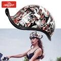Новый мотоциклетный шлем с открытым лицом Ретро полушлем Casco Moto Capac для Hyosung Triumph Yamaha kawasaki Honda Suzuki KTM Harley