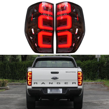 Car Styling Tail Lamp for Ford Ranger T6 T7 Bt8 2012 - 2019 Raptor LED Tail Light Rear Lamp Dynamci Signal LED Brake Reverse