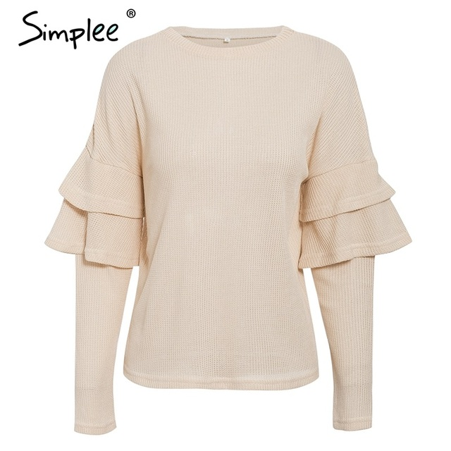 SIMPLEE Eksootiline pullover