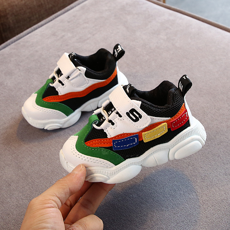 USA Kids Baby Boys Girls Casual Sport Shoes Sneakers Children Mesh Loafers Shoes