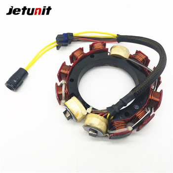 JETUNIT Outboard Stator Assy For Johnson Evinrude 6 Cylinder 150 & 175 hp 35amp 173-4981 584109 584981 76375 jetunit 100%premium outboard 9 amp stator assy for mercury 60 85hp 9 amp 2 3