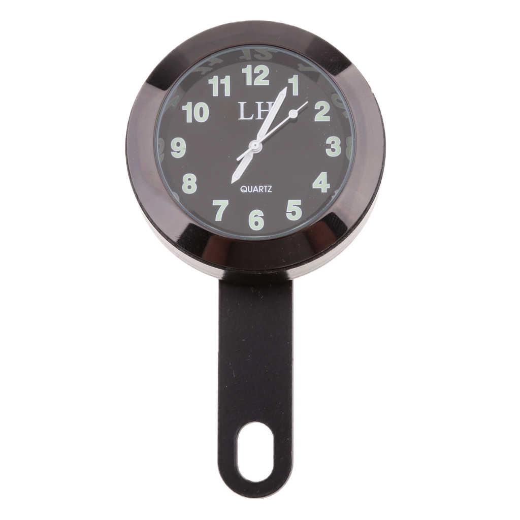 Водонепроницаемые часы на руль мотоцикла, для Honda, Yamaha, Suzuki, KTM