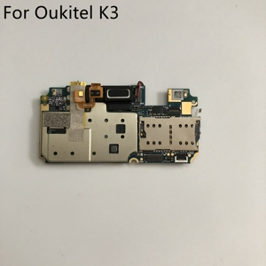 Image 1 - Kullanılan anakart 4G RAM + 64G ROM anakart Oukitel K3 MT6750T Octa çekirdek 5.5 inç FHD 1920x1080 + takip numarası