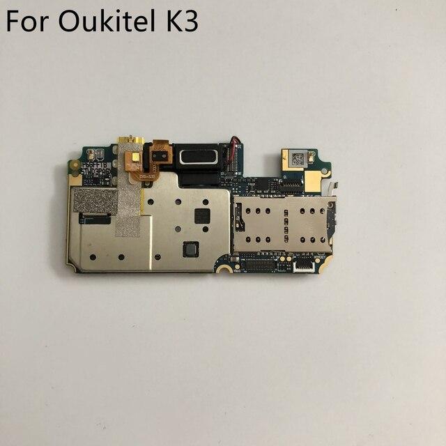 Kullanılan anakart 4G RAM + 64G ROM anakart Oukitel K3 MT6750T Octa çekirdek 5.5 inç FHD 1920x1080 + takip numarası
