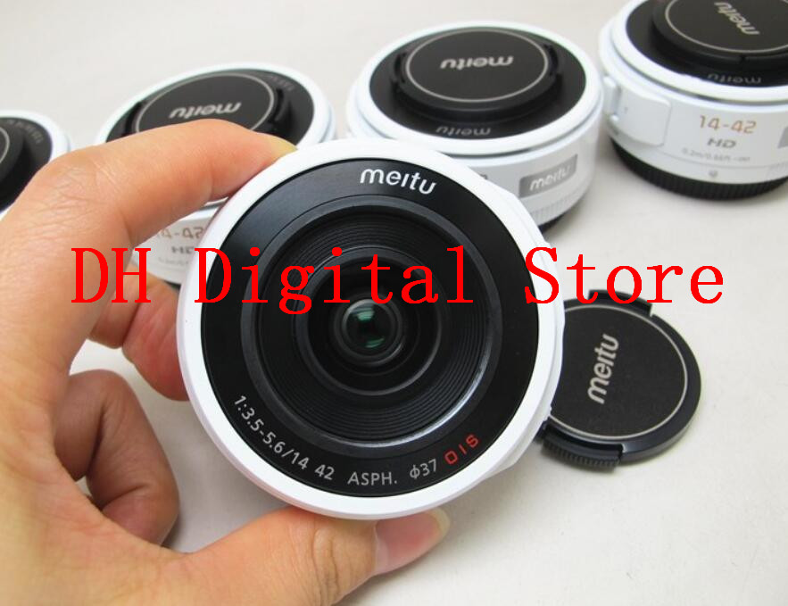 New For Meitu 14-42 F3.5-5.6 ASPH OIS Zoom Lens For Panasonic For Olympus Micro 4/3 SLR Camera 14-42MM GF3 GH4 GF9