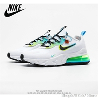 Nike Air Max 270 React Men\'s Breathable Mesh Running Shoes Size 40-45