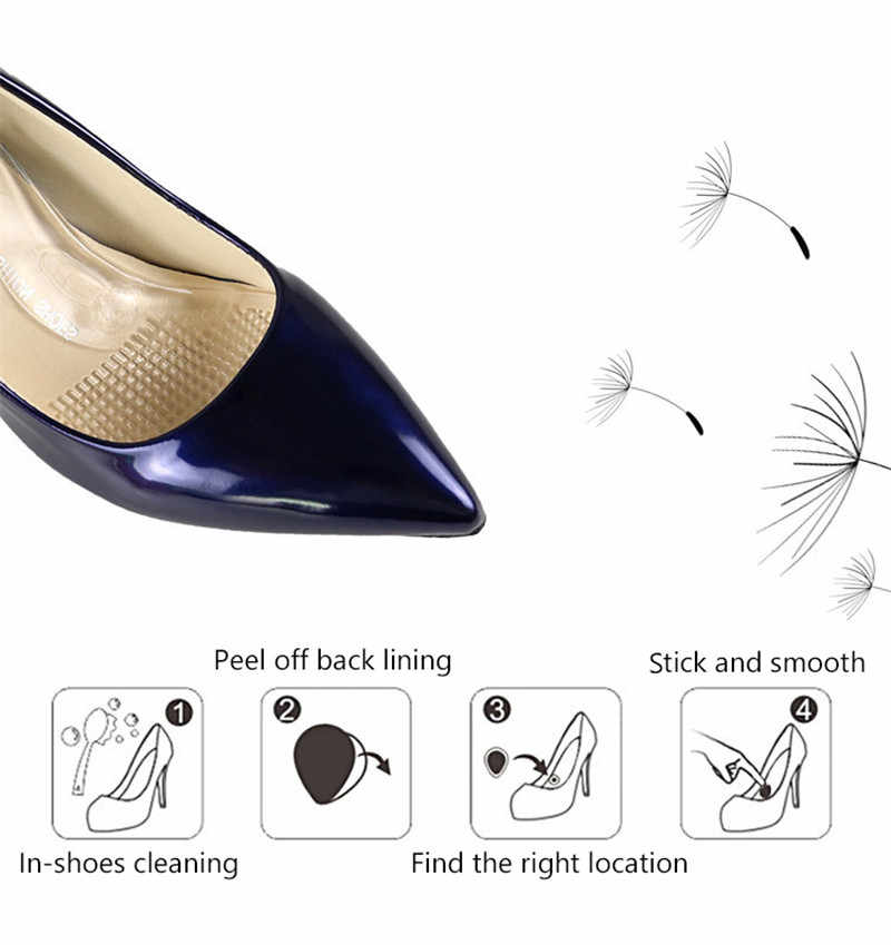 Silicone Gel Arch Support pad Flat Foot Orthotics Orthopedic  Insoles Corrector High Heel Elastic Shoes Patch Front Feet Cushion