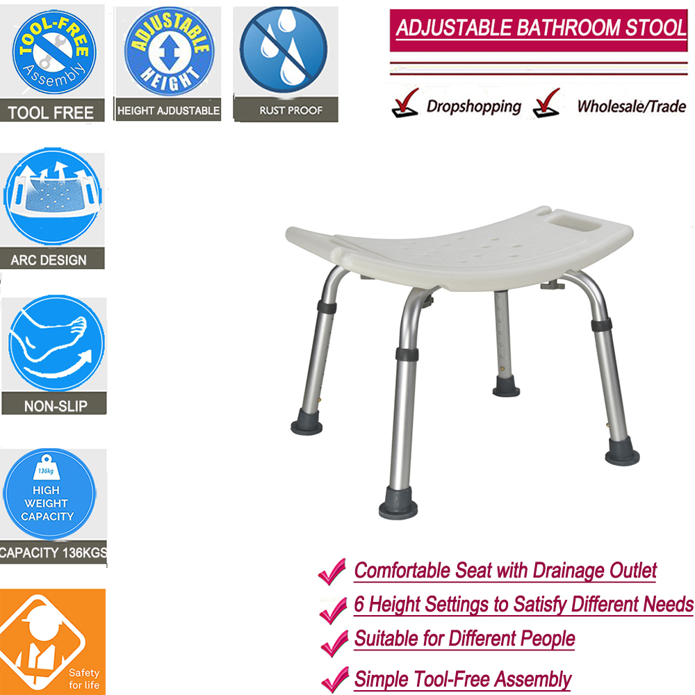 Toilet Stool Chairs Shower Squatting Kids Bed Bathroom