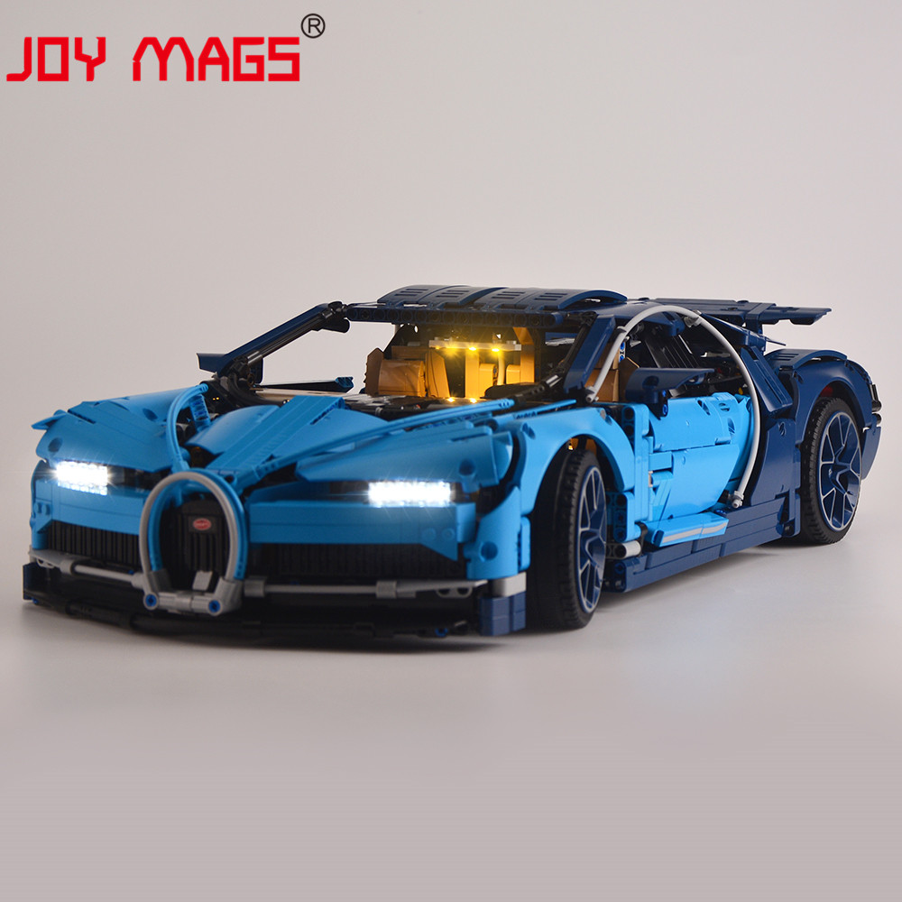 JOY MAGS Only Led Light Kit For <font><b>42083</b></font> Technic Series Toys Blocks Lighting Set Compatible With 20086/10917/68001 NO Model image