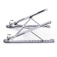 Laptop Stehen Tragbare Höhen Einstellbare Winkel Aluminium AlloyDesktop Belüfteten Kühl Rack Halter Folding Ultra für MacBook