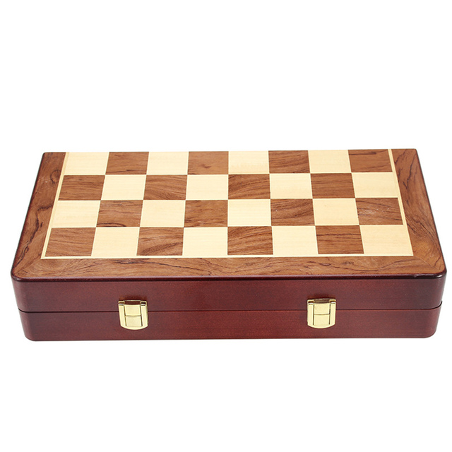 Metel Chess Pieces Wooden Chessboard Chess Game Set Beginner Chess Set for Kids and Adults High Quality Chess 6