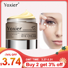 Yoxier Slak Oogcrème Peptide Collageen Serum Slak Essentie Anti-Rimpel Remover Donkere Kringen Korea Cosmetica Patch Voor Eye(China)