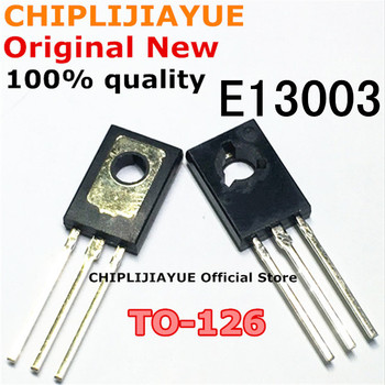 10PCS MJE13003 TO126 E13003 TO-126 new and original IC Chipset - discount item  10% OFF Active Components