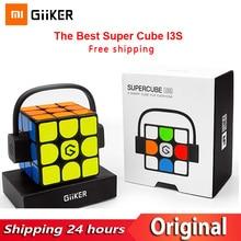 Newest  Xiaomi Giiker i3s AI Intelligent Smart Super Cube I3Y Smart Magic Magnetic Bluetooth APP Sync Puzzle Toy For Children