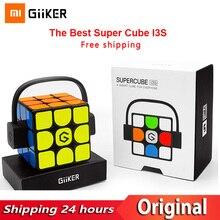 Newest xiaomi giiker i3s愛インテリジェントスマートスーパーキューブI3Yスマートマジック磁気bluetooth app同期パズルのおもちゃ子供