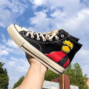 Image 1 - Diwaniya 2019 Men Skateboard Shoes Autumn Hip Hop Canvas Sneakers Men Lace up Athletic Sport Shoes Zapatillas Hombre Deportiva
