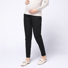 Maternity Adjustable Pants Casual Clothes Pregnancy Clothing for Pregnant Women Fashion Black Elastic Force