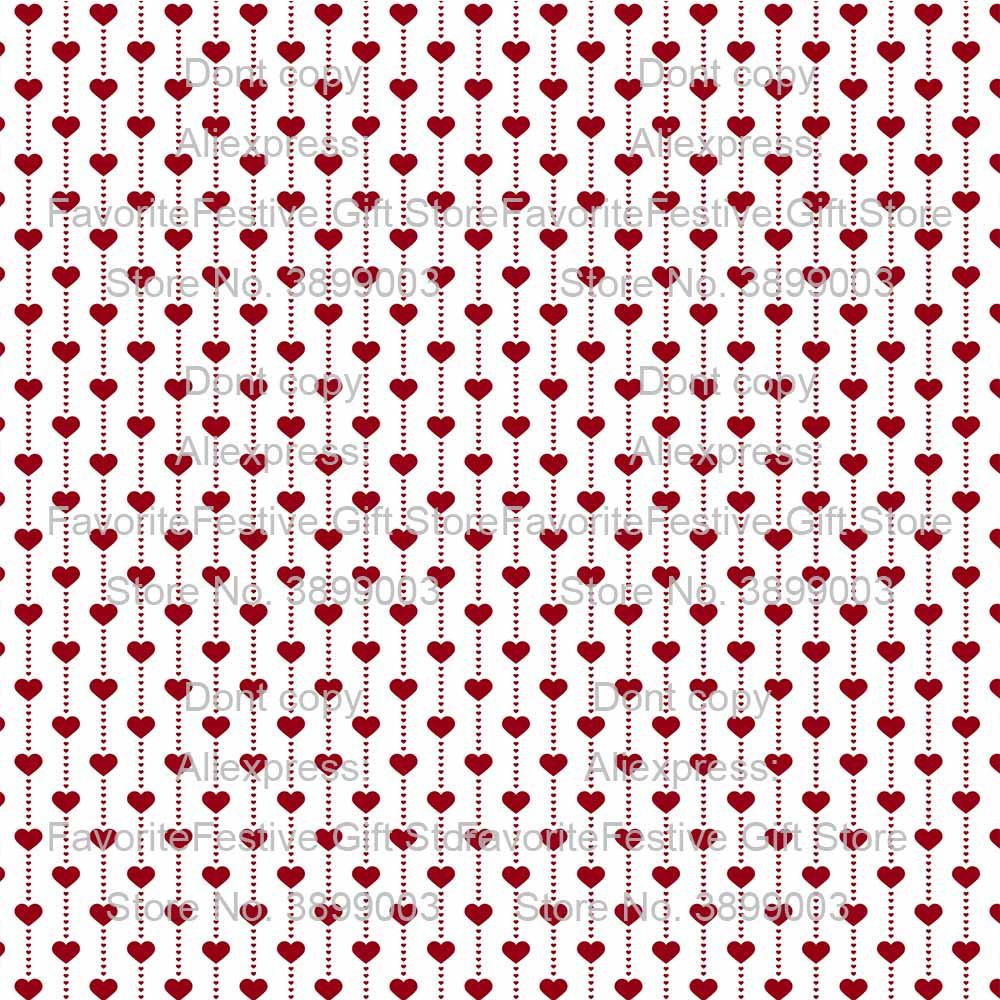 Coeur vêtements de nuit polyester stretch coton bébé vêtements tissu dames jupe vêtements de nuit tissus Smiley visage rouge beau tissu