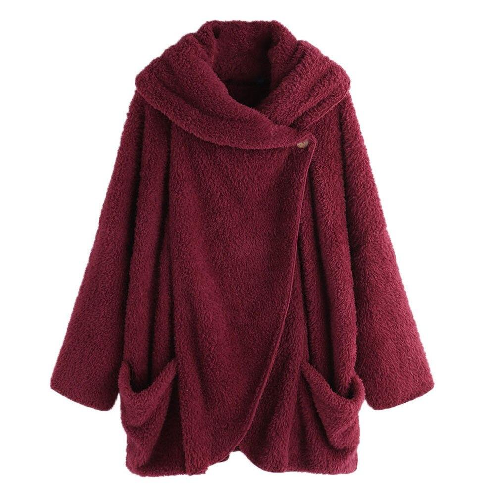 Female Teddy Sweaters Plus Size Sherpa Fleece Cardigan Oversized 5XL Women Winter Robe 2019 Sherpa Fluffy Sweaters