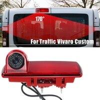 Câmera retrovisor do carro câmera luz de freio câmera à prova dwaterproof água para renault vivaro tráfego personalizado|Câmera veicular| |  -