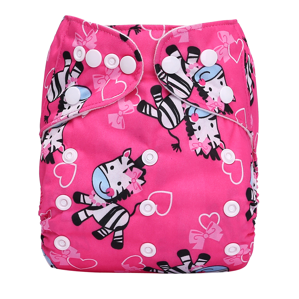 Cloth Diapers All In One Cloth Diaper Waterproof Baby Reusable Cotton Cloth Nappies For Baby W19