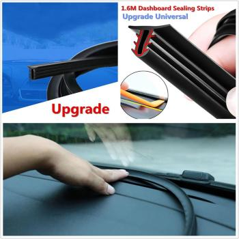 1 Set 160cm Car Rubber Dashboard Rubber Seal Sealing Strip For Toyota Honda Ford BMW Au-di Hyundai DIY Car Styling Accessories image