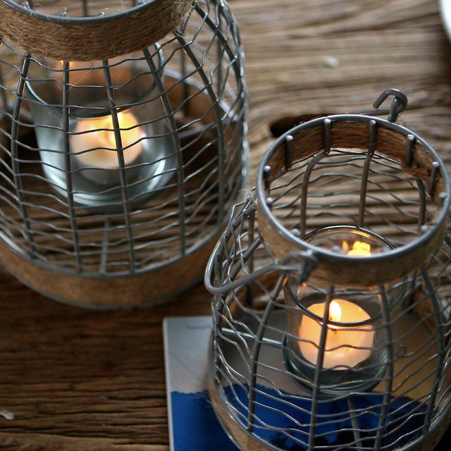 Vintage Stand Lantern Candle Holder
