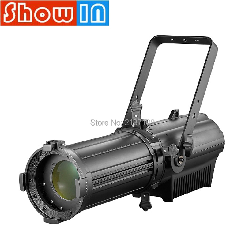200W/300W LED Profile Spot Light With Zoo Die Casting Aluminum Studio TV Show Photography Theater Meeting Stage Lighting Effect