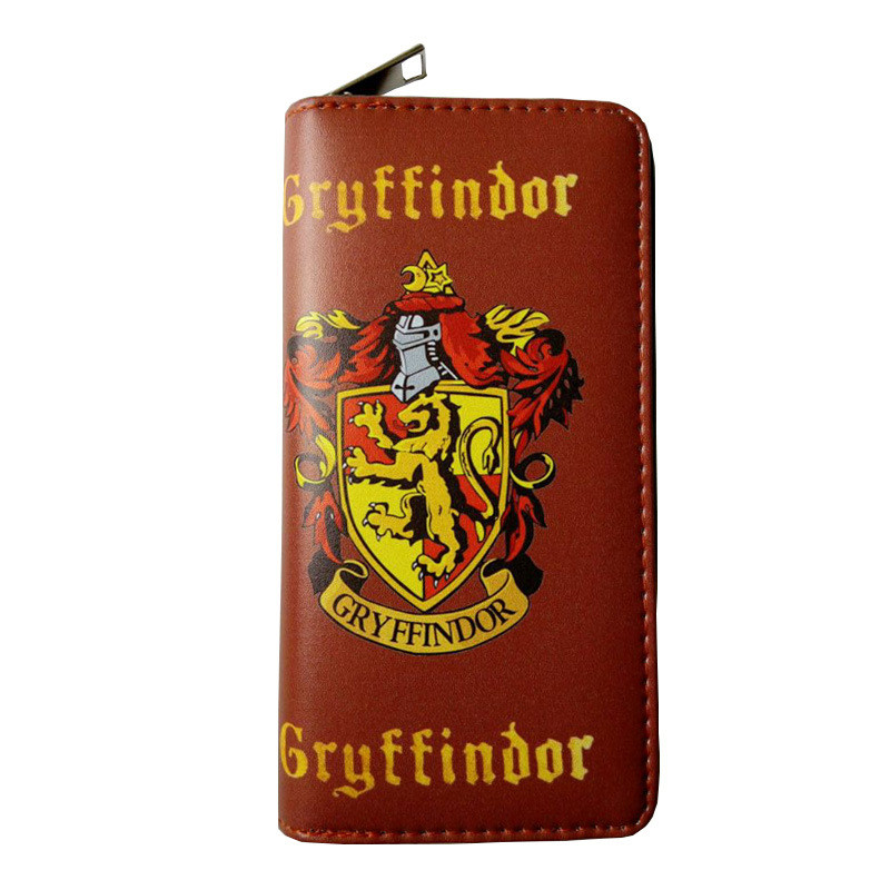 Hogwarts School Badge Wallet Riverdale Wallet Gryffindor Ravenclaw Slytherin Hufflepuff Southside Serpents Wallet
