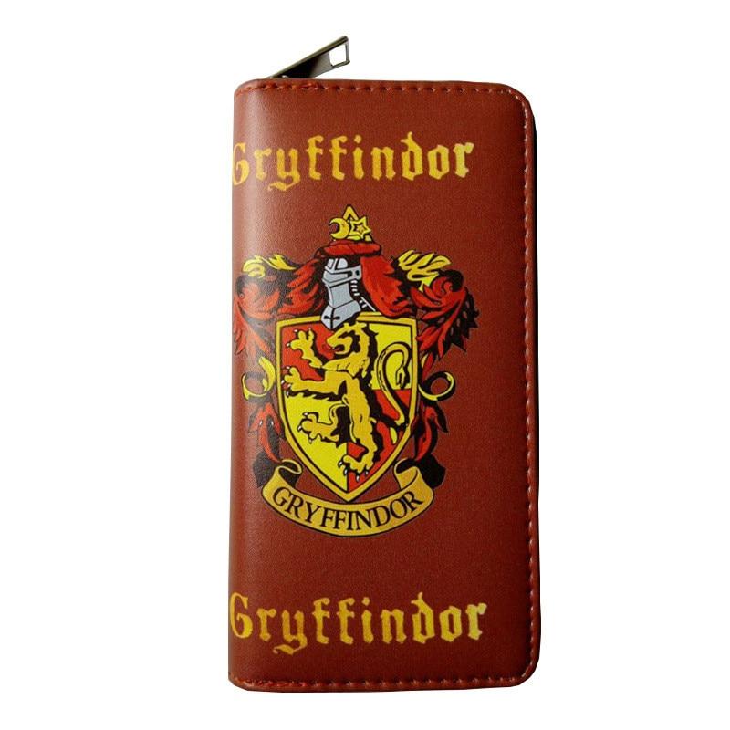 Hogwarts School Badge Wallet Riverdale Wallet Gryffindor Ravenclaw Slytherin Hufflepuff Southside Serpents Wallet